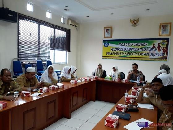 Focus Gruop Discussion Kelompok Kerja Pendidikan Keluarga (FGD Pokja Dikkel)
